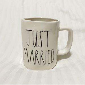 Rae Dunn Just Married coffee mug